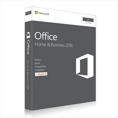 China Microsoft MAC Office 2016 Home and Business Web Download Directly fábrica