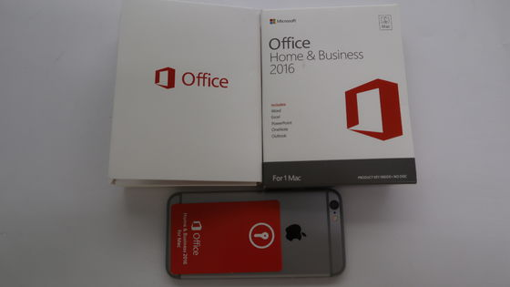 China Microsoft Office original 2016 casero y negocio para el IOS del mac sin DVD dentro fábrica